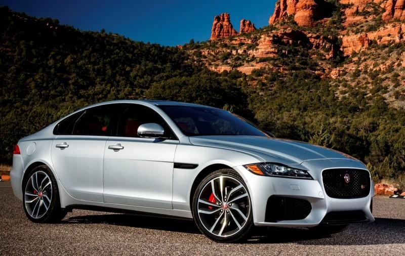 2017 Jaguar XF-S V6 - USA Media Drive 57
