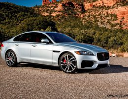 5.0s, 380HP 2017 Jaguar XF-S V6 – USA Media Drive Gallery + Visualizer