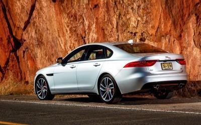 2017 Jaguar XF-S V6 - USA Media Drive 63