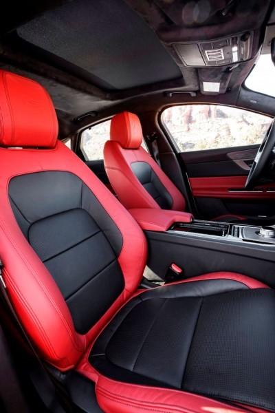 2017 Jaguar XF-S V6 - USA Media Drive 69