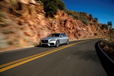2017 Jaguar XF-S V6 - USA Media Drive 7