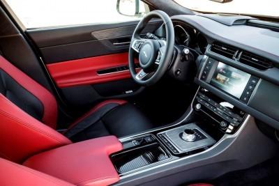 2017 Jaguar XF-S V6 - USA Media Drive 70