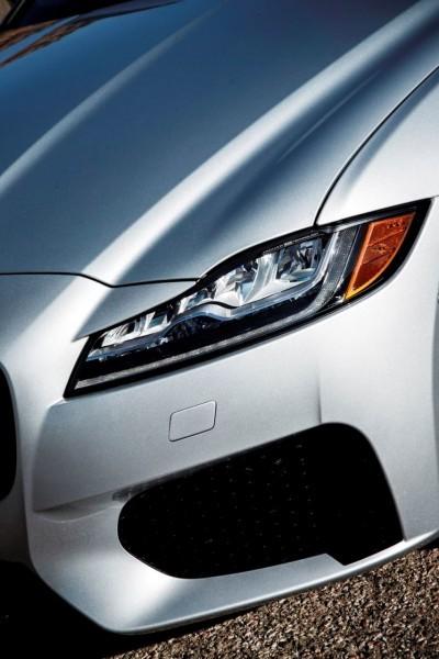 2017 Jaguar XF-S V6 - USA Media Drive 89