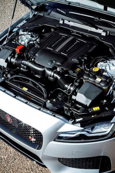 2017 Jaguar XF-S V6 - USA Media Drive 92
