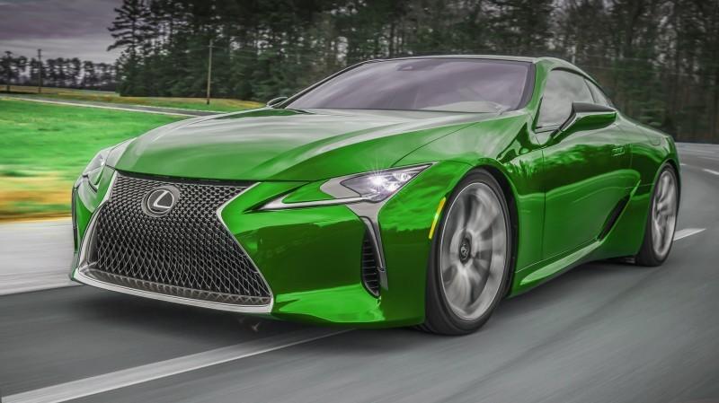 2017 Lexus LC500 COLORS VISUALIZER 1