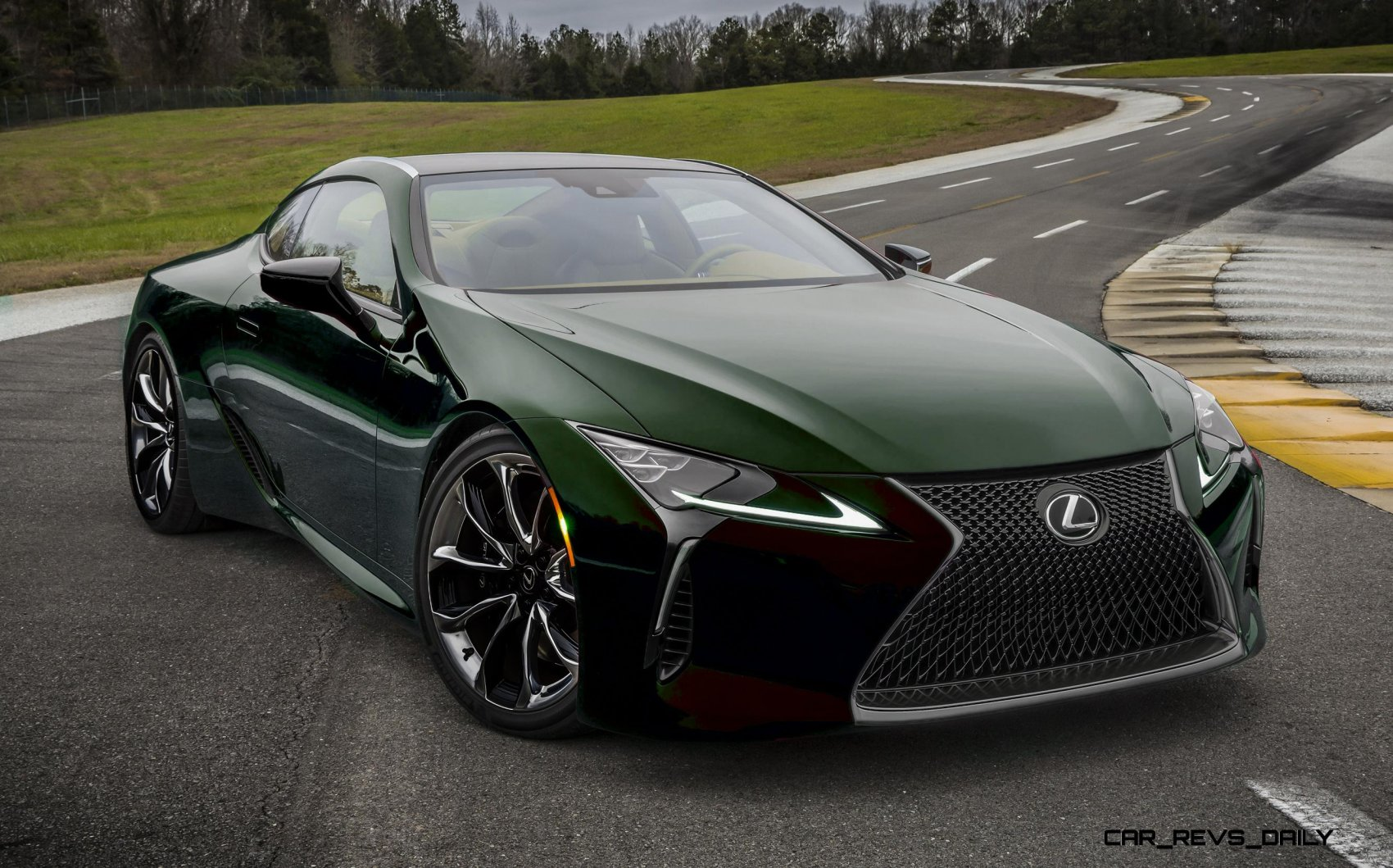 2017 Lexus LC500 COLORS Visualizer Black Chrome Looks