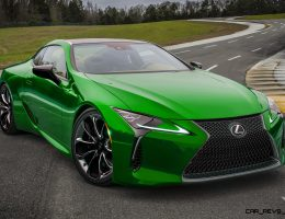 2017 Lexus LC500 COLORS Visualizer + Black Chrome Looks [150 Shades]