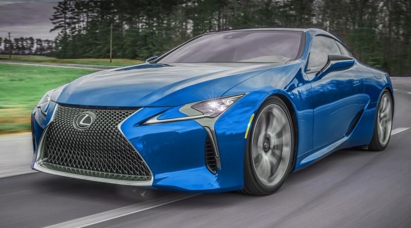 2017 Lexus LC500 COLORS VISUALIZER 4