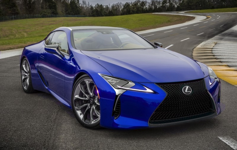 2017 Lexus LC500 - Grille Color Visualizer Drafts  2