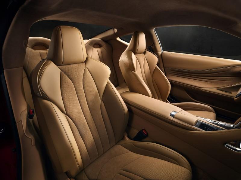 2017 Lexus LC500 Interior Photos 11