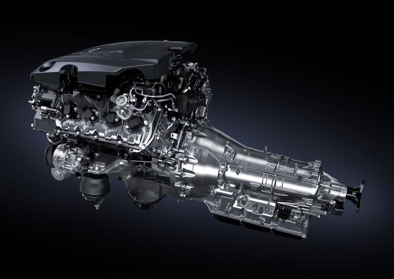 2017 Lexus LC500 Interior Photos 17