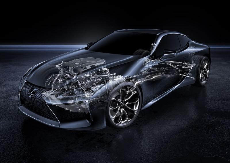 2017 Lexus LC500 Interior Photos 18