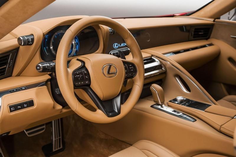2017 Lexus LC500 Interior Photos 2