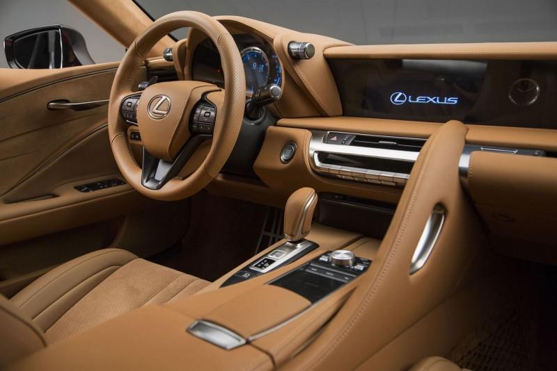 2017 Lexus LC500 Interior Photos 3