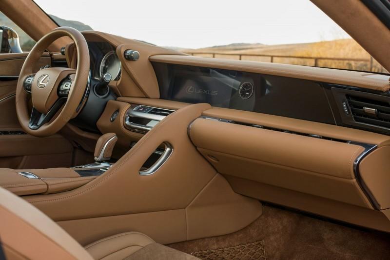 2017 Lexus LC500 Interior Photos 4
