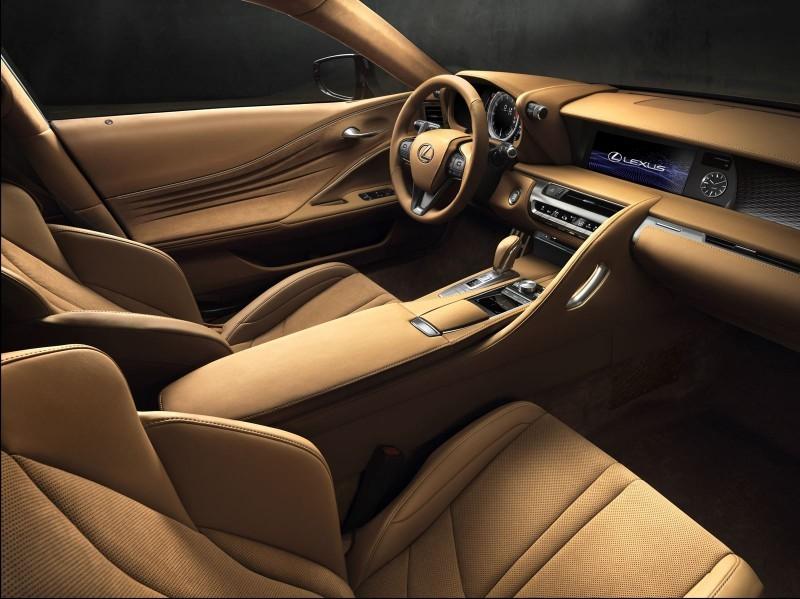 2017 Lexus LC500 Interior Photos 5