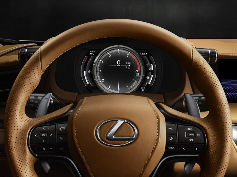 2017 Lexus LC500 Interior Photos 6