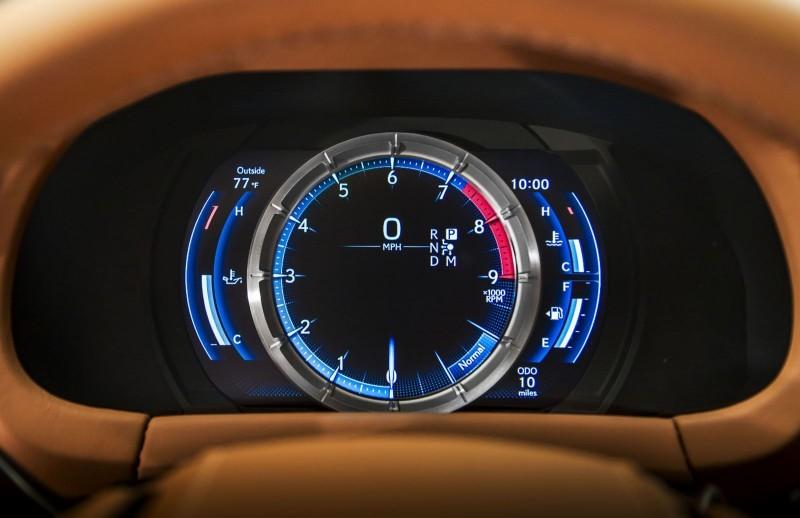 2017 Lexus LC500 Interior Photos 8