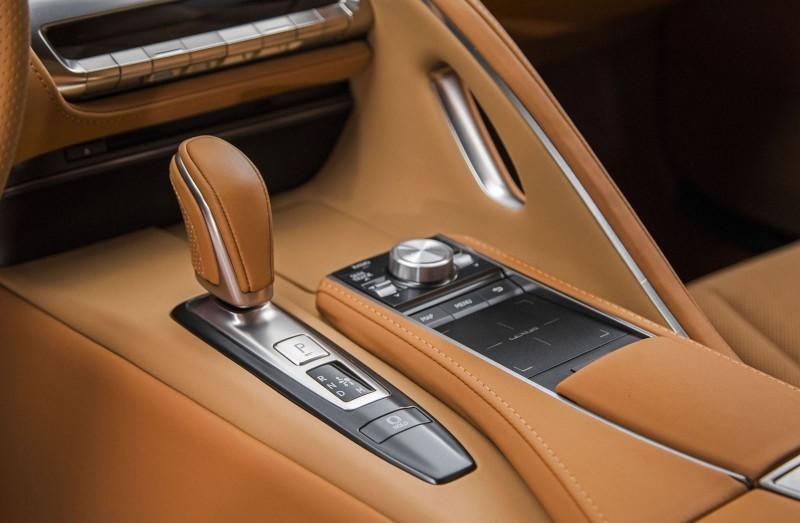 2017 Lexus LC500 Interior Photos 9