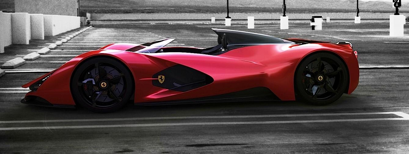 Maserati Laferrari Aliante Spyder By Ied Torino
