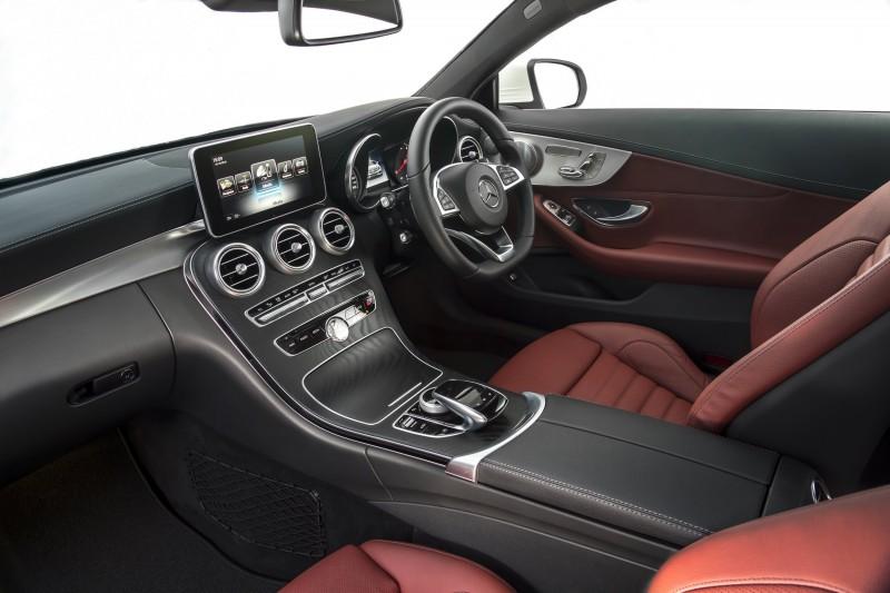 2017 Mercedes-Benz C-Class Coupe 11