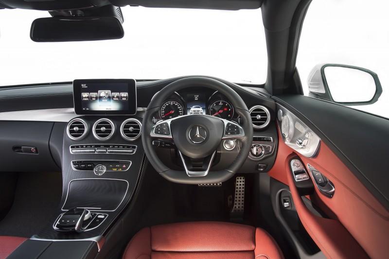 2017 Mercedes-Benz C-Class Coupe 12
