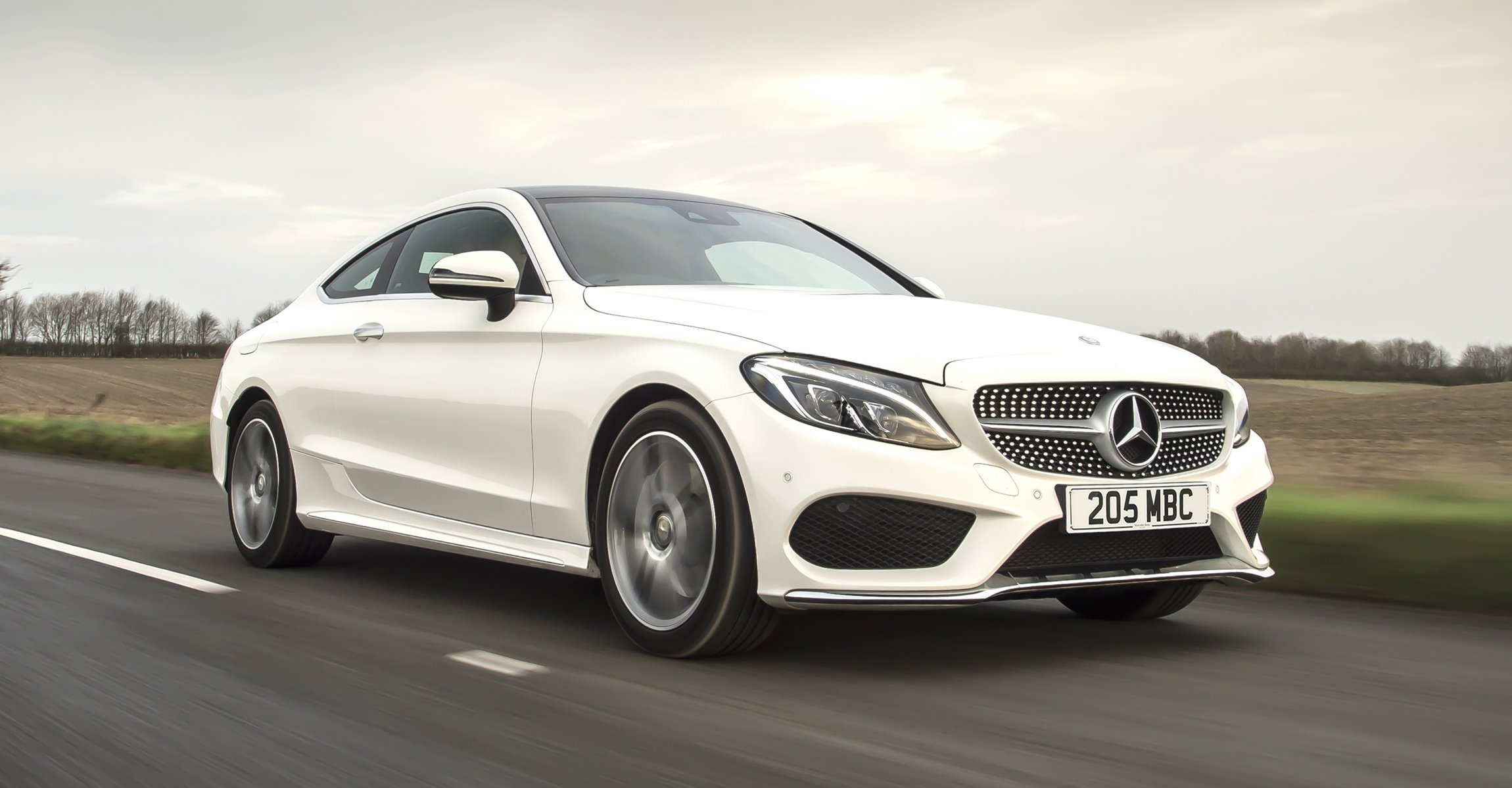 2017 Mercedes Benz C Class Coupe Posh Amg Sport Style