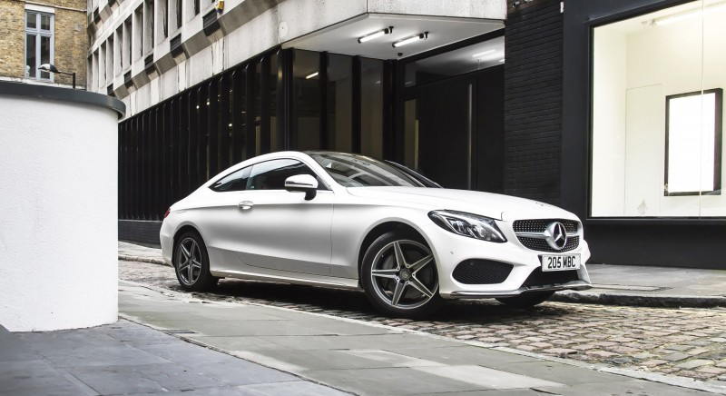 2017 Mercedes-Benz C-Class Coupe 2
