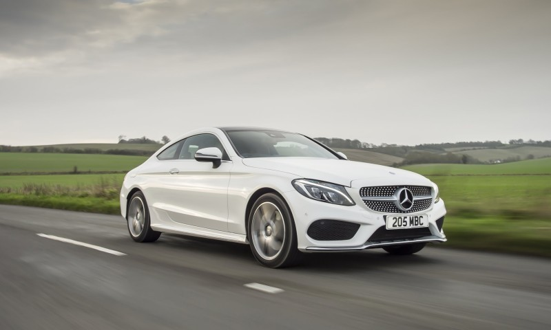2017 Mercedes-Benz C-Class Coupe 24