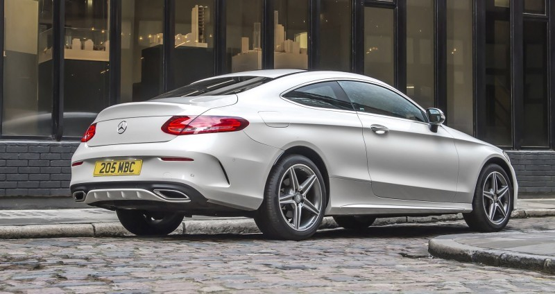 2017 Mercedes-Benz C-Class Coupe 3