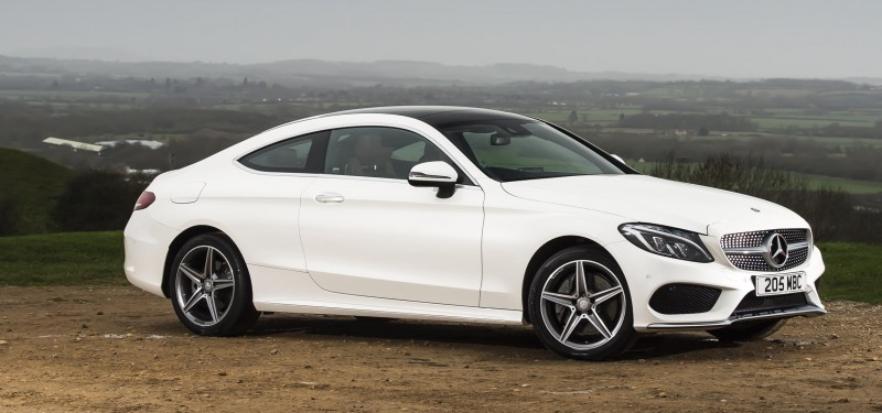 2017 Mercedes-Benz C-Class Coupe 38