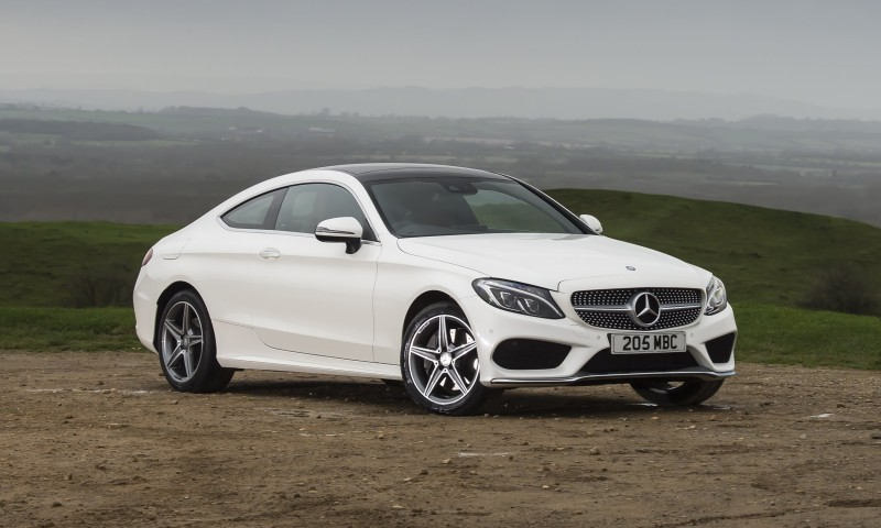 2017 Mercedes Benz C Class Coupe   Posh AMG Sport Style For C300 And C400  USA Twins