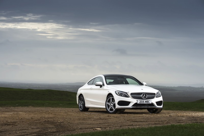 2017 Mercedes-Benz C-Class Coupe 42