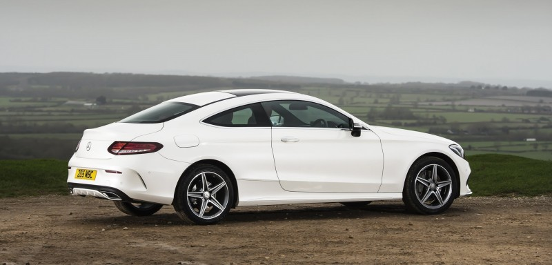 2017 Mercedes-Benz C-Class Coupe 45