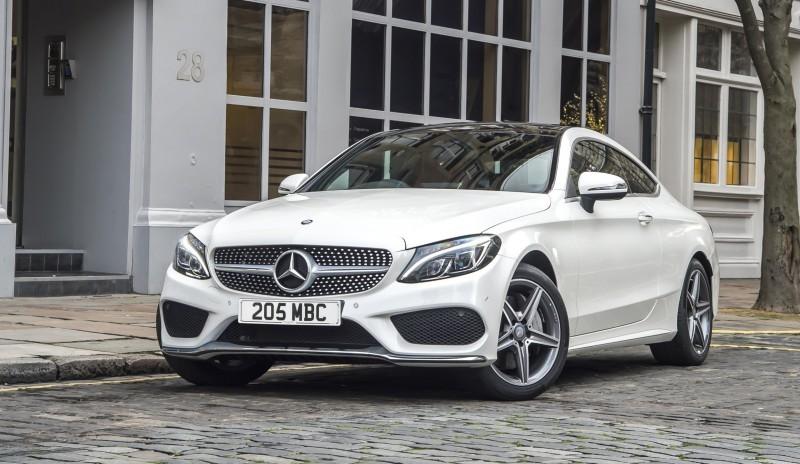 2017 Mercedes-Benz C-Class Coupe 5