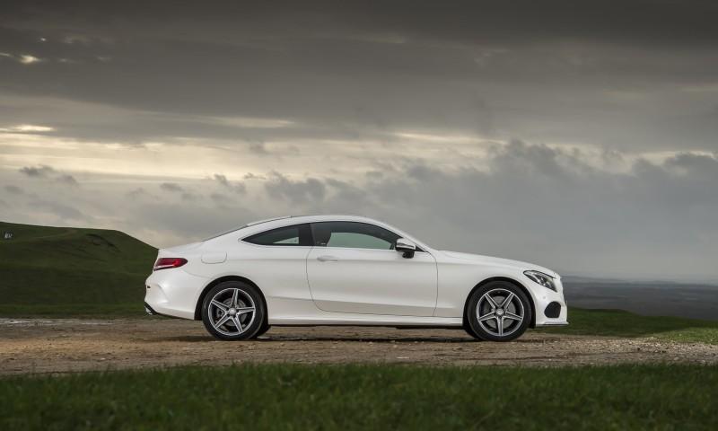 2017 Mercedes-Benz C-Class Coupe 55