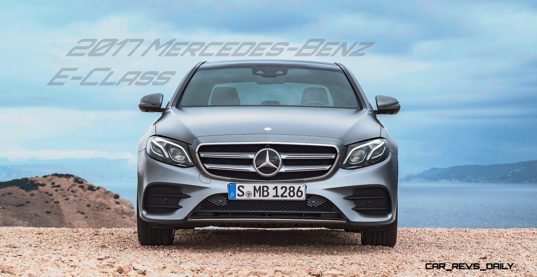 Update1 2017 mercedes benz e class official debut of for Mercedes benz official