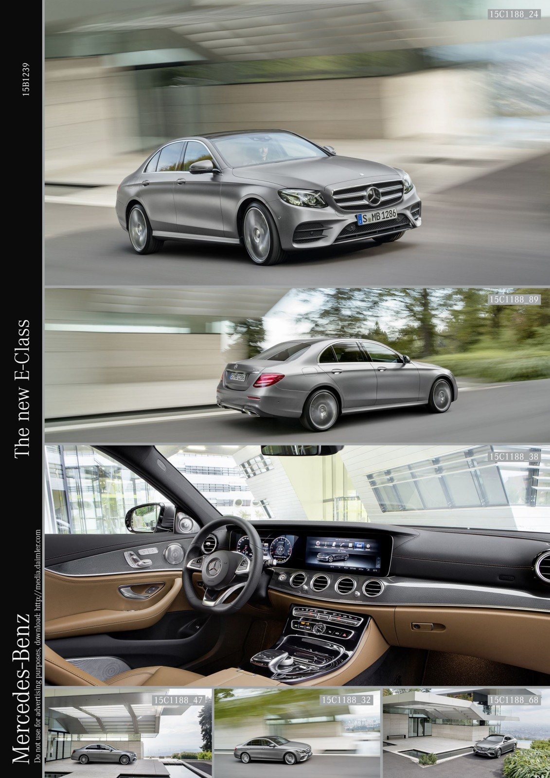 Update1 2017 mercedes benz e class official debut of for Mercedes benz interieur