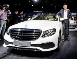 Update1 – 2017 Mercedes-Benz E-Class – Official Debut of Ultra-Posh New Cabin, All-New Exterior