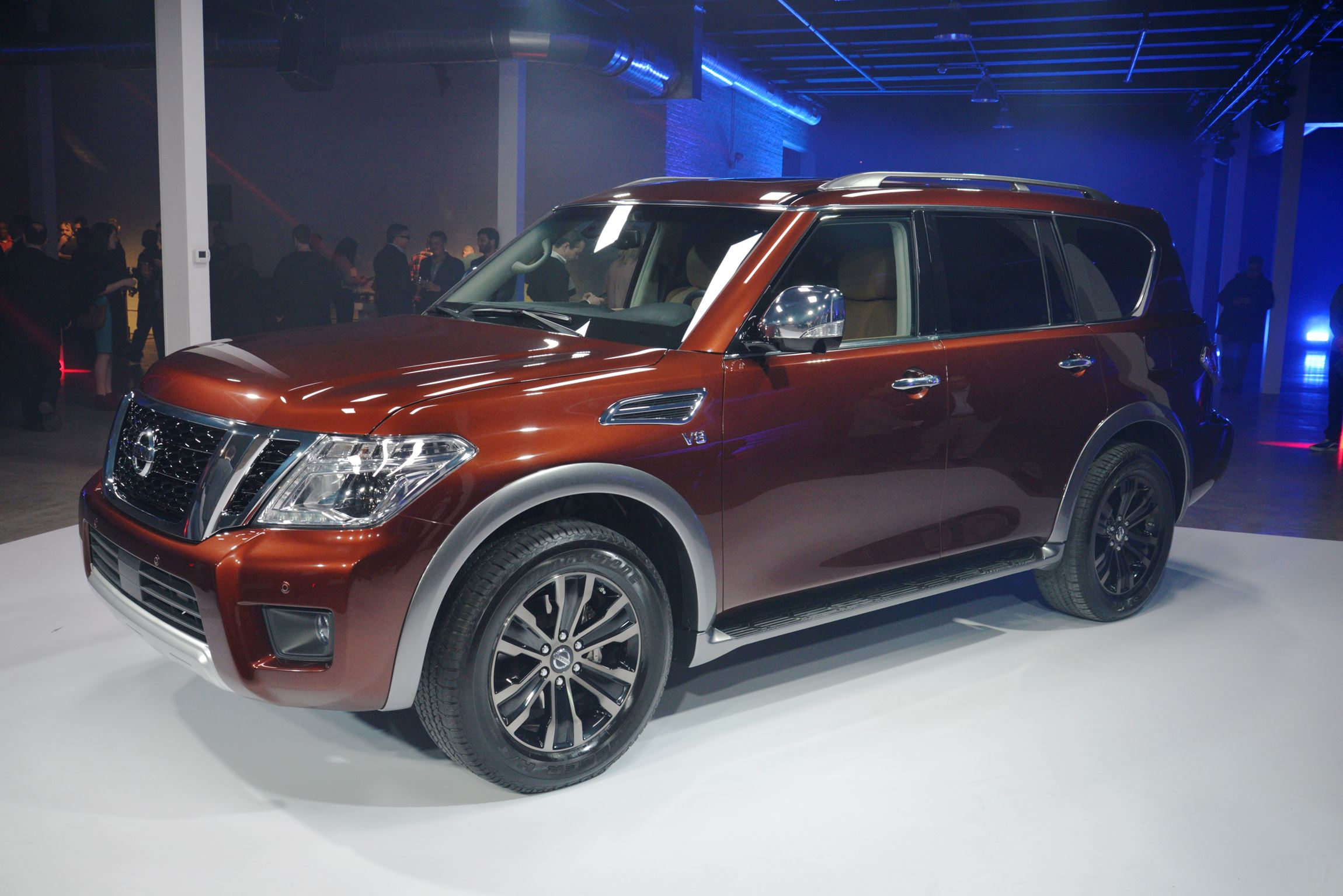 2017 nissan armada swaps from truck basis to bomb proof global patrol models car revs. Black Bedroom Furniture Sets. Home Design Ideas