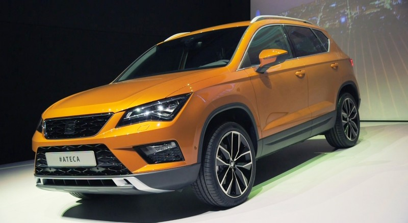 2017 SEAT Alteca SUV Live Reveal 9