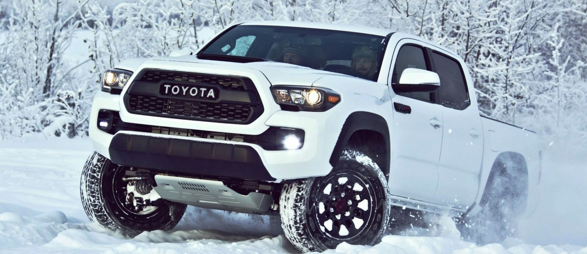 2017 Toyota Tacoma TRD Pro - Kevlar-Reinforced Tires, Rigid Industries ...