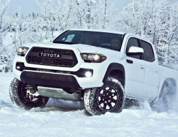 2017 Toyota Tacoma TRD Pro – Kevlar-Reinforced Tires, Rigid Industries LEDs and Black-Dipped Styling Details