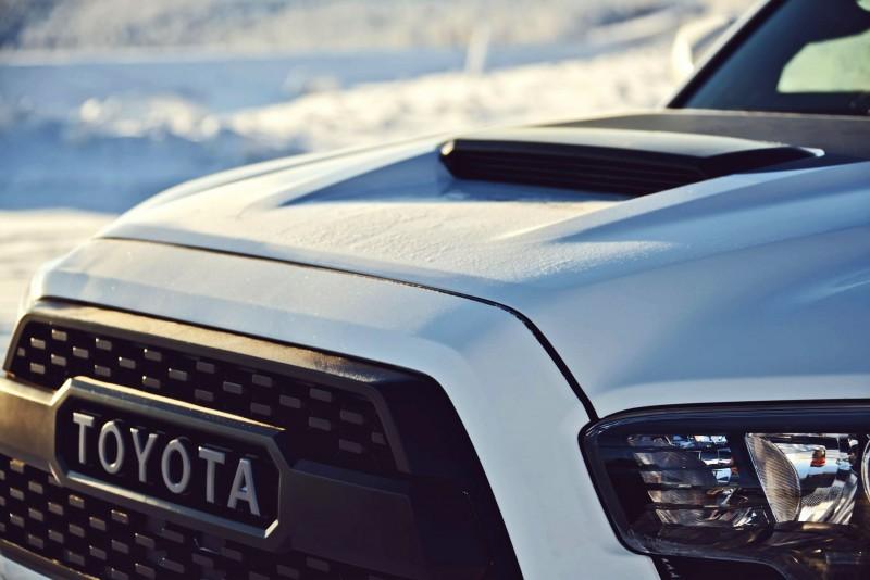 2017 Toyota Tacoma TRD Pro - Kevlar-Reinforced Tires, Rigid Industries ...