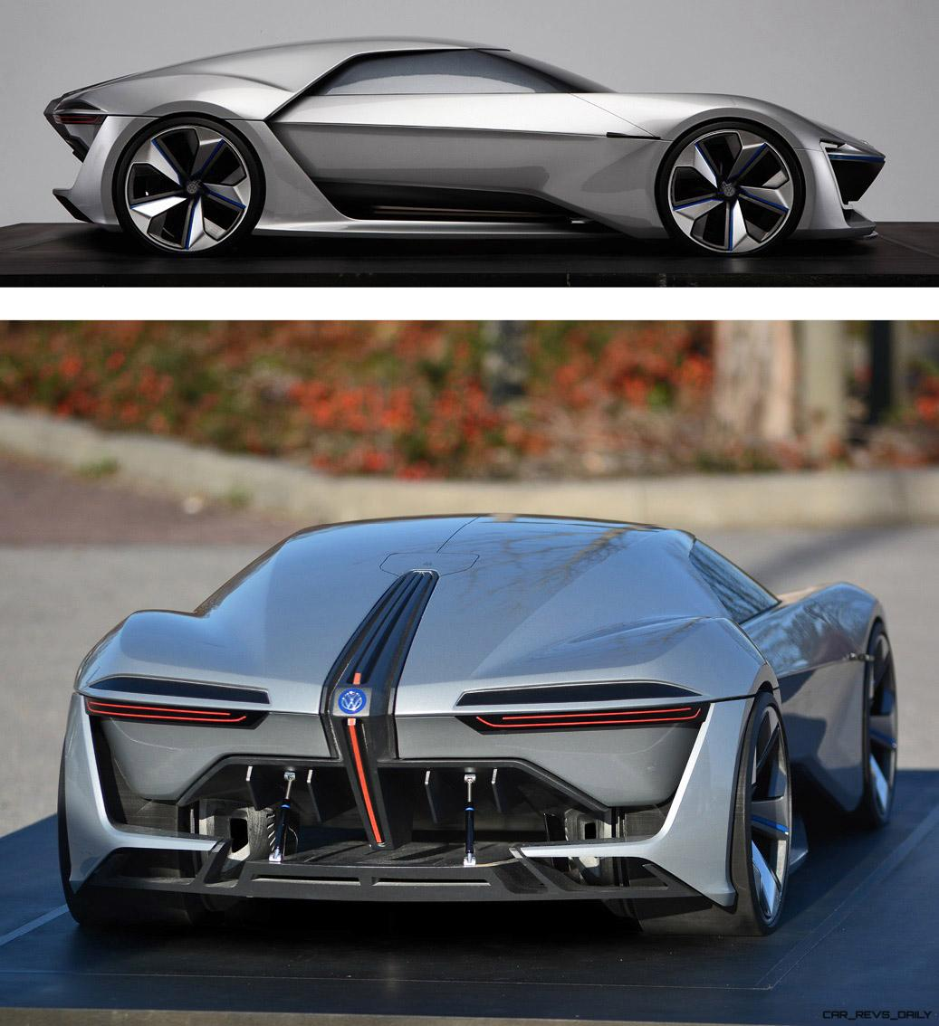 HD Design Analysis – 2020 Volkswagen GT Ge by Eli Shala – Biplane Aero Theory, Negative Space ...