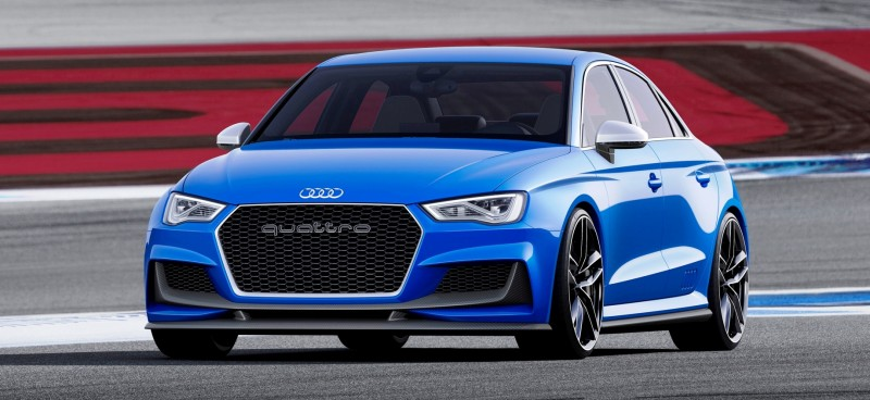 3.6s A3 ClubSport Concept Packs 517 Horsepower and 192MPH Vmax 1