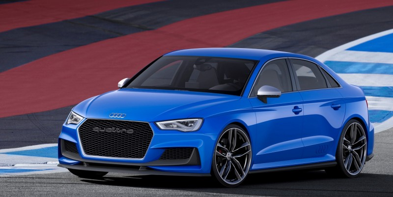 3.6s A3 ClubSport Concept Packs 517 Horsepower and 192MPH Vmax 3