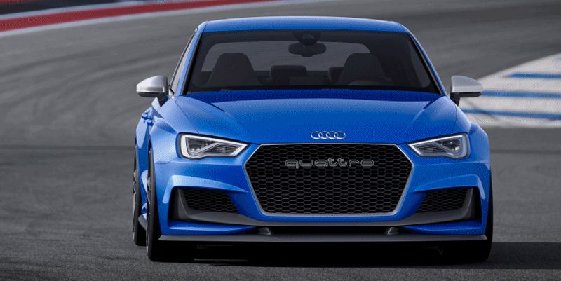 3.6s A3 ClubSport Concept Packs 517 Horsepower and 192MPH Vmax GIF header