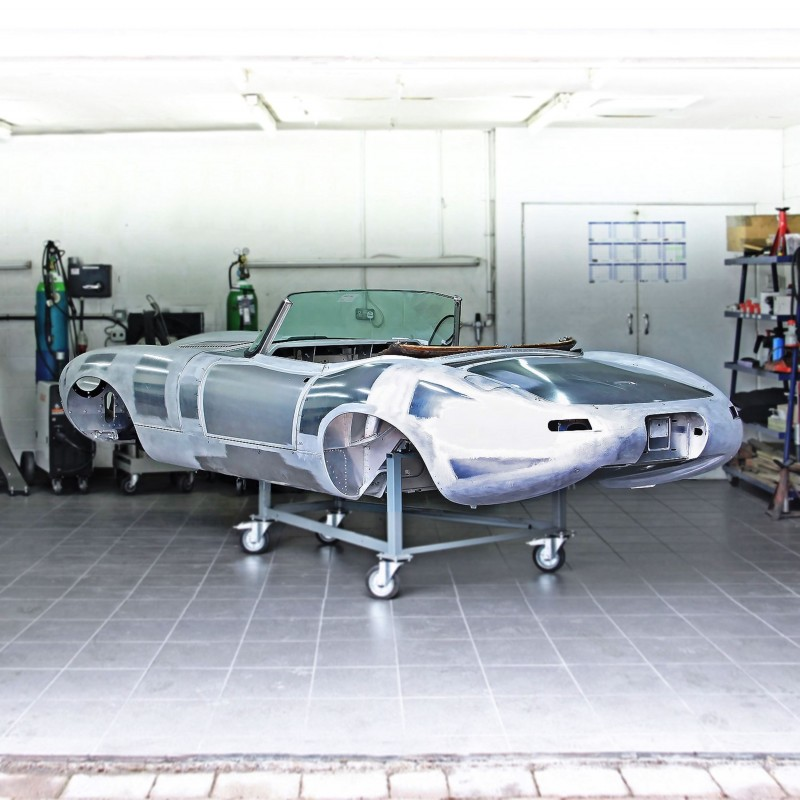 4 Eagle Spyder GT under construction