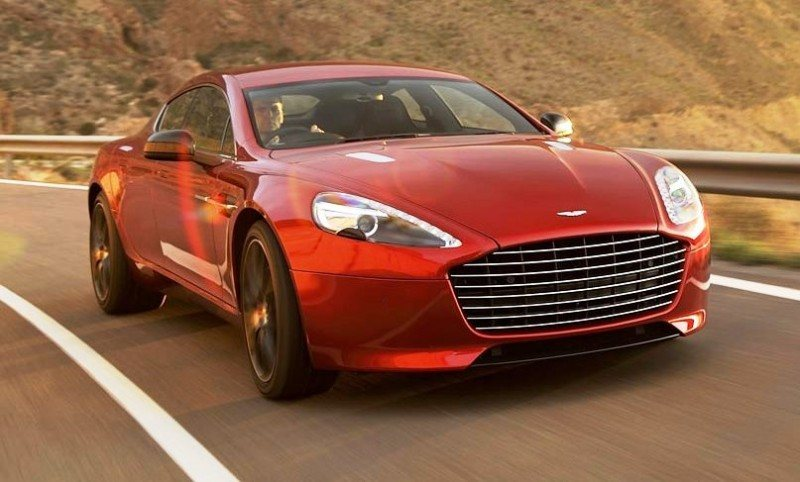 4.2s, 200-MPH 2015 Aston Martin RAPIDE S Also Nabs New Dampers, Torque-Tube and 8-Speed ZF Transaxle 124